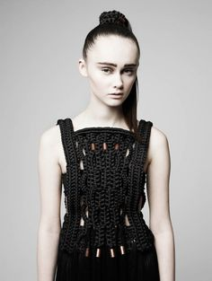 Decorialab knitwear Studio www.decorialab.com #Black