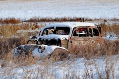 old+abandoned+cars+trucks+and+trains | Flickr: Discussing Contest #80 Abandoned/Decayed Cars from the 1950's ...