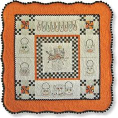 Awesome Halloween quilt!!!