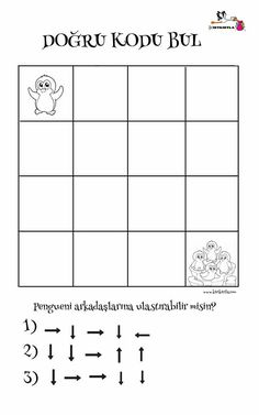Kindergarten Activities, Preschool Activities, Computer Coding For Kids, Computational Thinking, Printable Board Games, Simple Math, 1st Grade Math, Nouvel An, Problem Solving