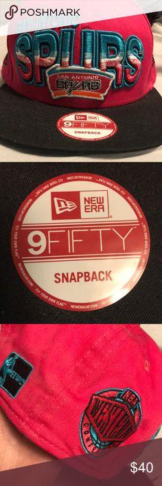 San Antonio Spurs SnapBack San Antonio Spurs SnapBack Worn once 9fifty Accessories Hats
