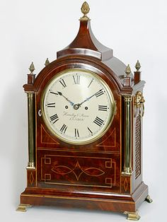 English Regency mantlepiece clock. c 1820