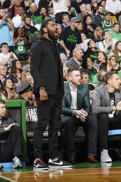 Celtics take Game in the Cortez Kenny III with Gordon Hayward. He Got Game, Game 1, Nba Fashion, Male Fashion, Nba Quotes, Gordon Hayward, Allen Iverson, Kyrie Irving, Nba Champions