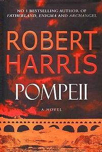 Pompeii is a novel by author and journalist Robert Harris published by Random House in 2003. It is a blend of fictional characters with the real-life eruption of Mount Vesuvius on August 24, 79 that overwhelmed Pompeii and its surrounding towns. Pompeii is especially notable for the author's references to various aspects of volcanology and use of the Roman calendar.