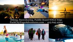 Year-round paddle-board yoga in the Homestead Crater! Who wants to do it with me? @jonesnews?