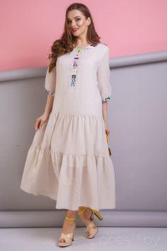 Платье Anastasia 179 бежевые тона