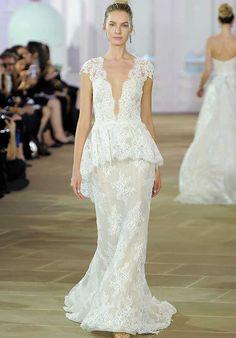 5b39cd8e0e58 Ines Di Santo Violet Sheath Wedding Dress Bridal Collection
