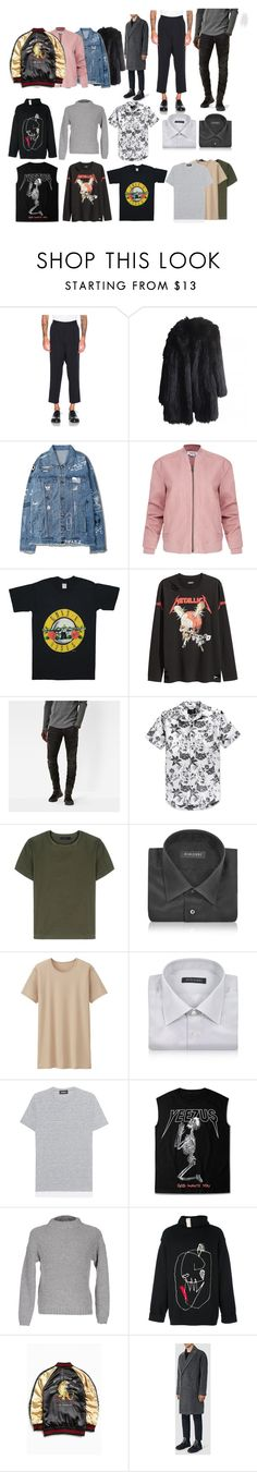 """""""Fall 2016"""" by santceantoni on Polyvore featuring J.W. Anderson, Sonia Rykiel, Helmut Lang, G-Star Raw, Hurley, Calvin Klein Collection, Forzieri, Uniqlo, Dsquared2 and Eleventy"""