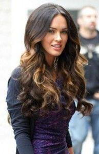 ombre hair.  Just added these tips to my hair for spring!! Love!