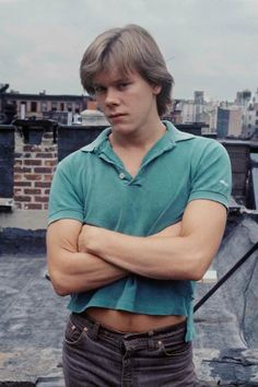 "Kevin Bacon -- Back when he played Tim Werner on ""Guiding Light"".  Never missed an episode because of him!"