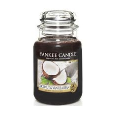 Yankee Candle Coconut and Vanilla Bean Large Jar Candle, Food and Spice Scent ** Check out the image by visiting the link.