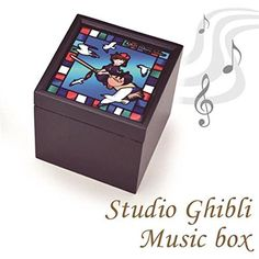 Ghibli* Collection stained glass wind BOX Music Box Kiki's Delivery Service