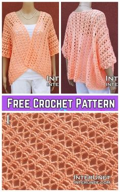Crochet Summer Shrug Free Crochet Pattern-Video Included