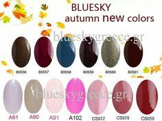 Bluesky colours