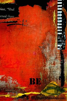 abstract being = Mixed media collage on canvas | Flickr - Photo Sharing!