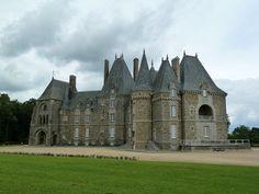 Château de Belair à Le Pertre by wally52, via Flickr -  Ille-et-Vilaine