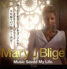 Mary J. Blige Music Saved my life Tour main 2010