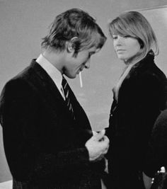 Jacques Dutronc and Francoise Hardy. Classy