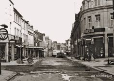 Horse Shoe Corner Looking Down Cheapside The Pedestrianised City Of Lancaster Lancashire England in 1974
