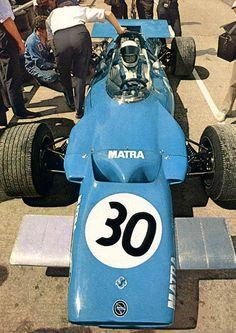 Jackie Stewart Matra MS80 Great Britain 1969