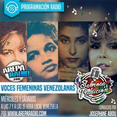 """Esta edición de Sabrosa Tradición está dedicada a las voces femeninas venezolanas emblemáticas, se puede decir que """"de todos los tiempos"""" y tomaremos como punto de partida un disco de 1977 titulado Las Reinas de la Música Criolla. Queens, The Voice"""