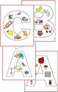 képesbetűka-c-650×10242 Teaching Kids, Kids Learning, Too Cool For School, Hands On Activities, Toddler Preschool, Alphabet, Homeschool, Kids Rugs, Reading
