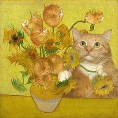 Svetlana Petrova, Sunflowers, Ready Meme 2016 (Edition of 8), 59cm by 59cm, Mixed Media
