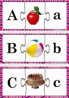 3-Piece Matching Puzzle - Alphabet
