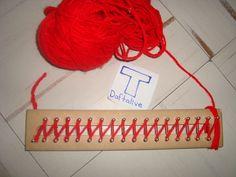 Tutorial ¿Cómo tejer con Telar Rectangular ó Telar Azteca - Taringa!
