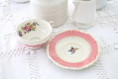 Vintage Porcelain Tea Cup and Saucer by Royal by MariasFarmhouse