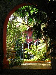Villa Merida Hacienda in Yucatan Peninsula, Mexico (by appaIoosa).