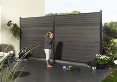 exterior wood  plastic fence design ideas,synthetic trailer deck board wood plastic material