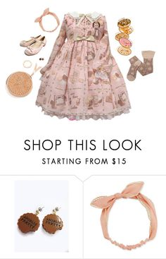 """""""Chocolate, Cheesecake, Cherry Pie"""" by vogelprinz ❤ liked on Polyvore featuring Arizona and lolita"""