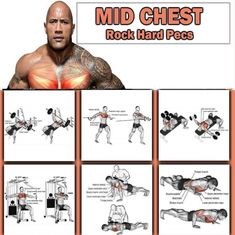 Mid Chest Training - The Rock Hard Pecs Workout