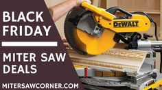 Black Friday 2017 – Top Miter Saw Deals, Discounts & Coupons