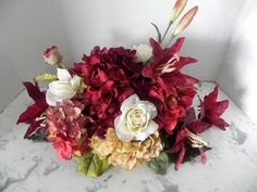 Items similar to Fall autumn centerpiece for home parties holidays Thanksgiving weddings showers house gifts new home welcome on Etsy Silk Flower Centerpieces, Thanksgiving Wedding, House Gifts, Floral Designs, Autumn, Fall, House Party, Silk Flowers, Wedding Flowers