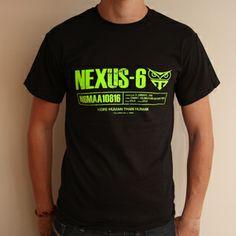 """Merchandise für Nexus-6 die neueste Baureihe von Androiden - im Ridley Scott's """"Blade Runner"""" (1982)  Quelle: lastexittonowhere.com"""