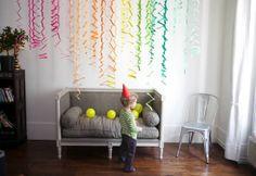 Decoração simples para festa infantil | Como fazer em casa Artesanato