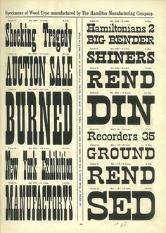 A Treasury of Wood Type Online   News, Notes & Observations   Hoefler & Co.