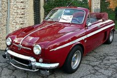 1958 Renault Dauphine Gordini cabriolet- Gerhaltitude – Insurance and Loans Lemon Car, Citroen Car, Cabriolet, Vintage Trucks, Car Car, Old Cars, Sport Cars, Motor Car, Cars And Motorcycles