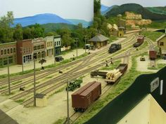 New England Berkshire & Western - HO Layout by Volker