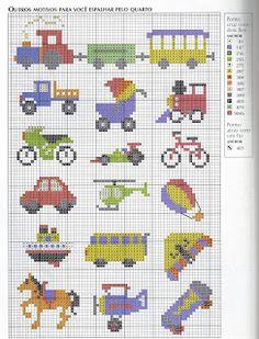 Ponto Cruz da Drayzinha: Graficos - Transportes