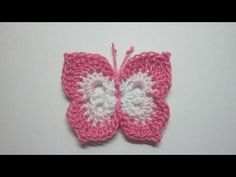 How To Make a Lovely Crochet Butterfly - DIY Crafts Tutorial - Guidecentral - YouTube