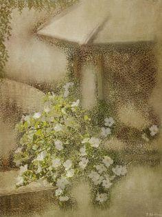 Life Itself - Vintage Art by Jordan Blackstone. Fine art prints for sale. #vintageart #lifeitself #floralartprint