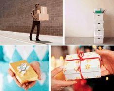 Apensar mensajero. Varias cajas apiladas. Persona entregando regalo. Cajita de regalo.¡Aquí te damos las soluciones para que disfrutes con el juego!