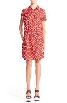 CARVEN Twill Silk Dress. #carven #cloth #