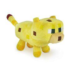 Minecraft Baby Ocelot Plush Toy Stuffed Animal