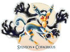 Sylveon X Cofagrigus by Seoxys6