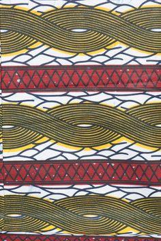 www.cewax.fr aime les tissus africains Tissu Wax 100% coton : Tissus Habillement, Déco par les-bobines-de-benares sur ALittleMercerie