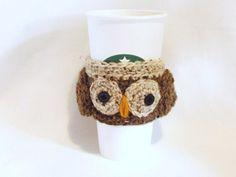 Owl Tea or Coffee Cozy